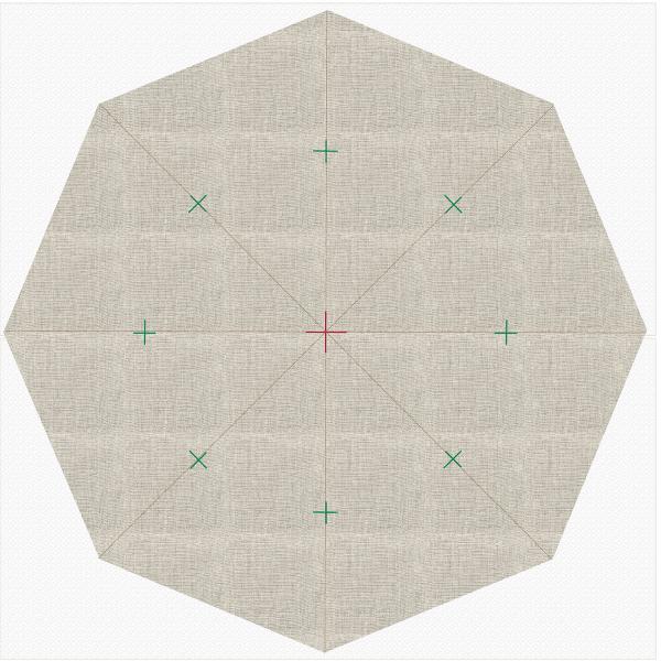 Octagon Tree Skirt - Holiday_Stitches_82023_09_marking_diagram_BERNINA_WeAllSew_Blog_1200x1200px