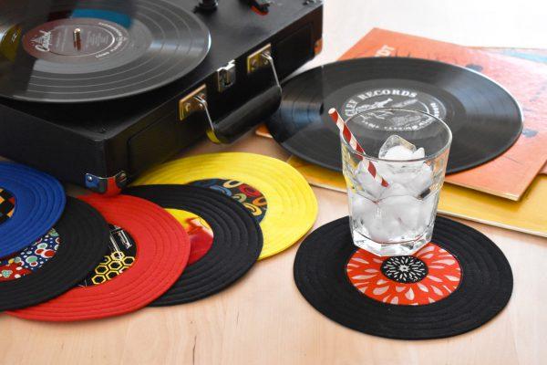 45 RPM Record Coaster Tutorial