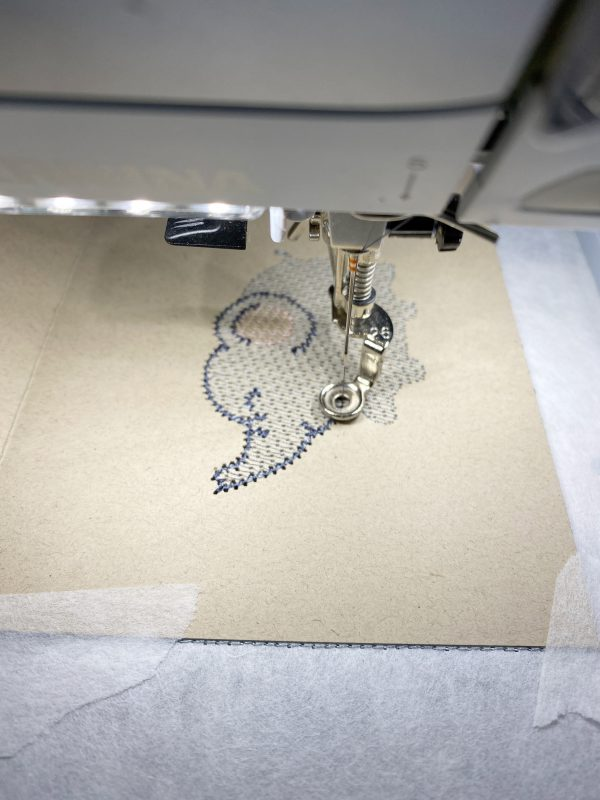 Embroidered Greeting Cards: Stitch out the greeting cards design