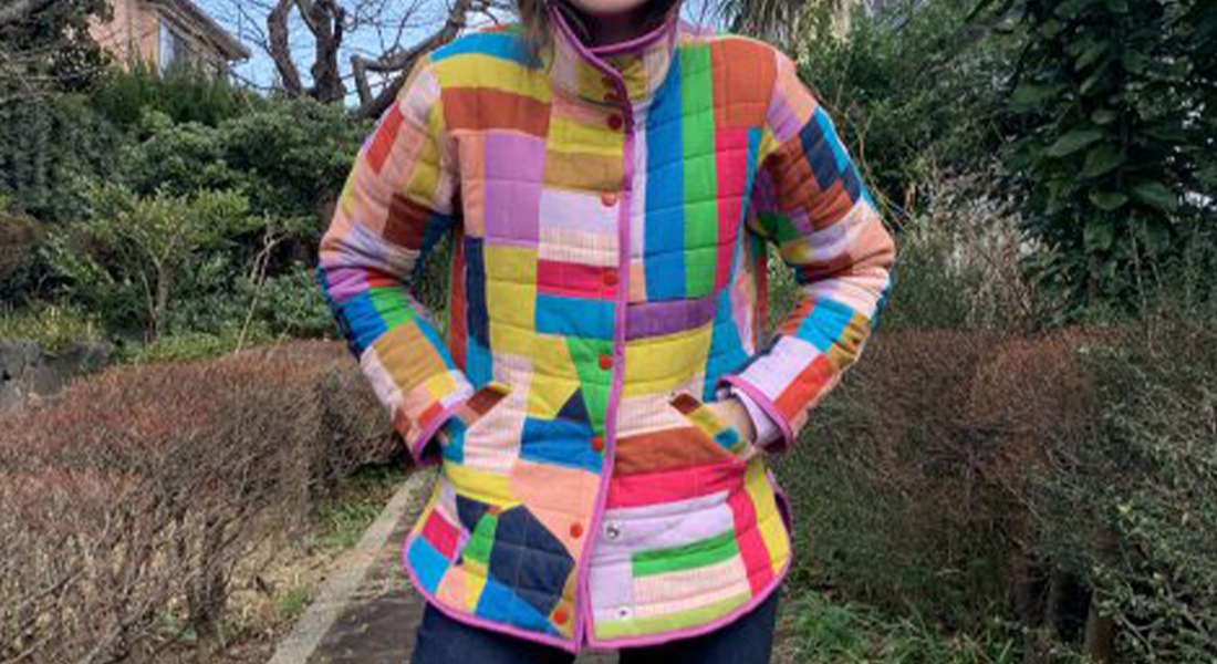 How to Make a Quilted Jacket with Scraps BERNINA WeAllSew Blog Feature 1100x600