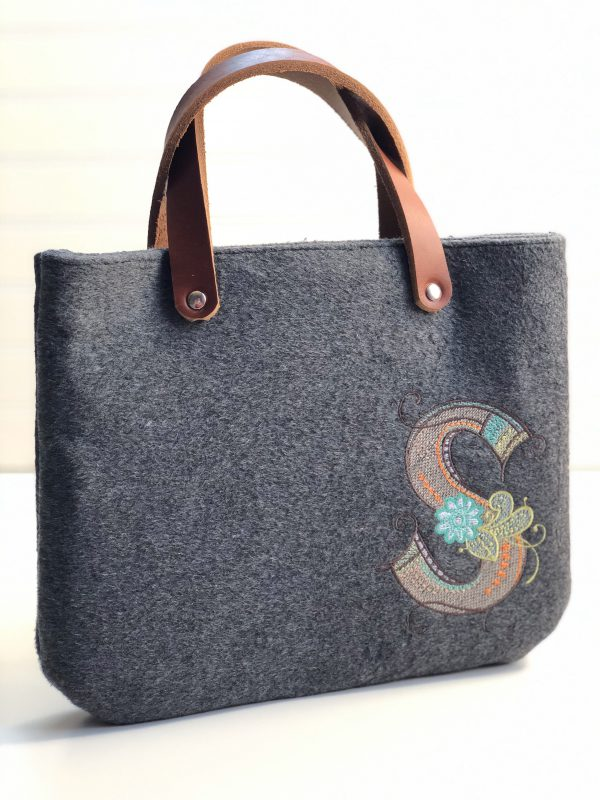 Multicolor Embroidery Bag: Finished Product