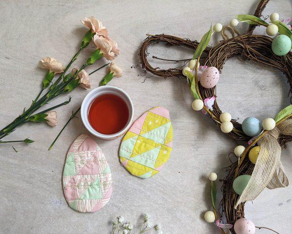 Easter Egg Coasters