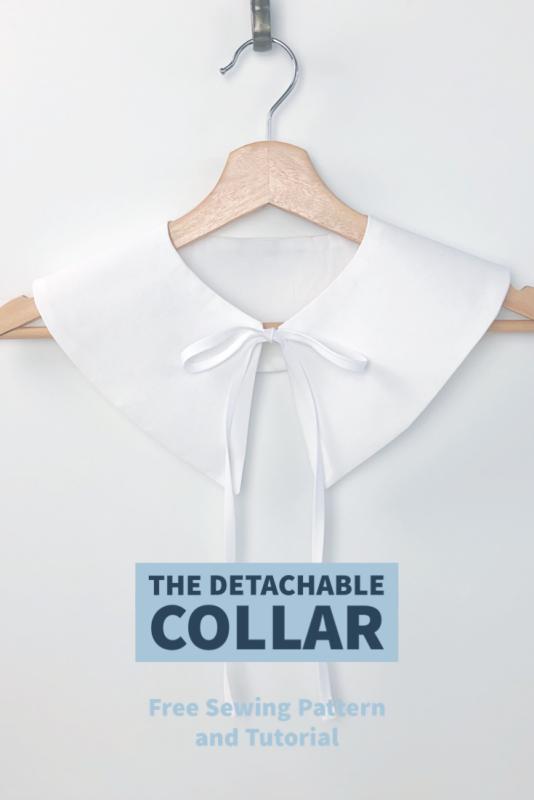 The Detachable Statement Collar Tutorial BERNINA WeAllSew Blog 735 x 1102