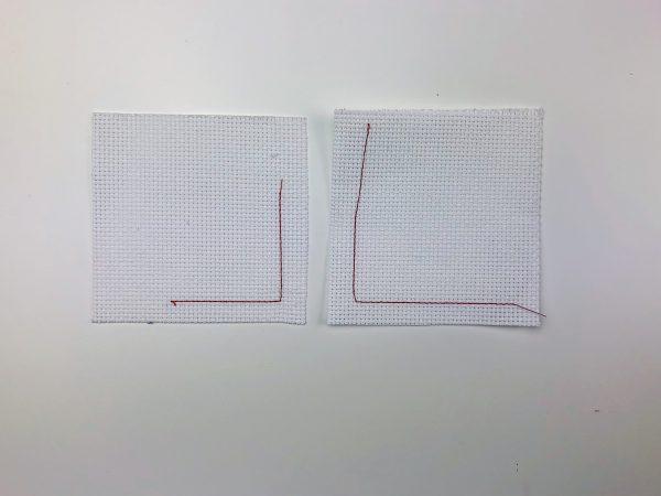 Detachable Collar Tutorial: maintaining grain while stitching