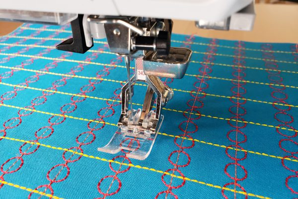 I've used pieces of machine stitched fabric as cuffs, collars, pockets, and for small crafts like zipper pouches or needle books.