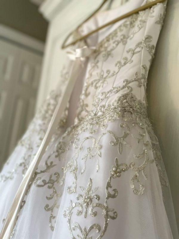 Before Photo (wedding dress)