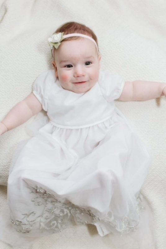 Baby in Completed Gown