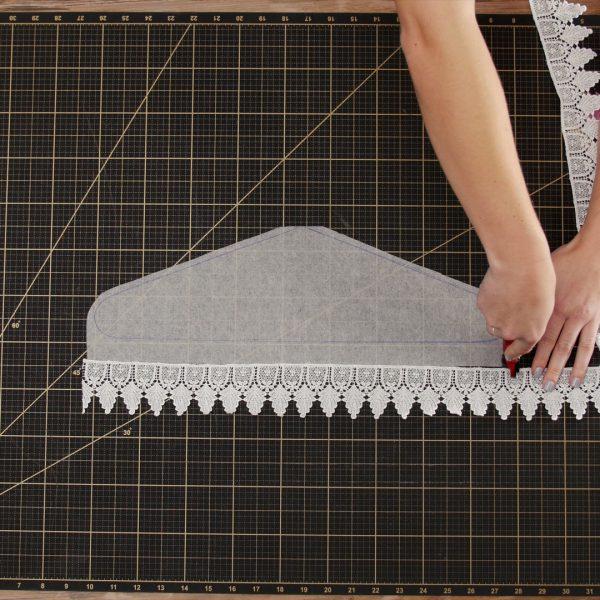 MTC_Bridal_Hanger_Cover_08_Cutting_lace_trim_BERNINA_WeAllSew_Blog_1080x1080px