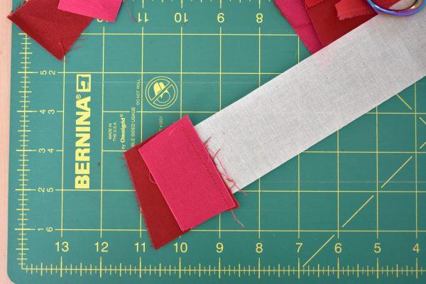 Pride Flag Mini Quilt Tutorial by Erika Mulvenna