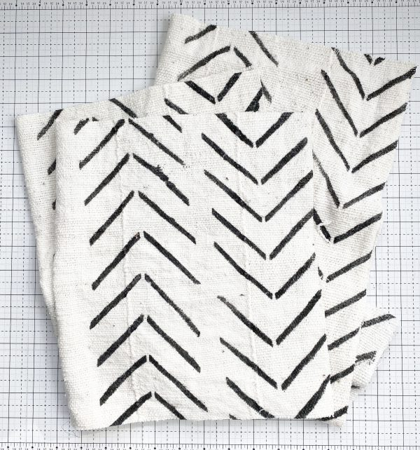 Sewing with Authentic Mud Cloth: Cut the Fabric