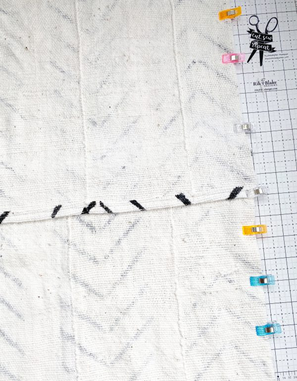 Sewing with Authentic Mud Cloth: Sew the Pieces Together