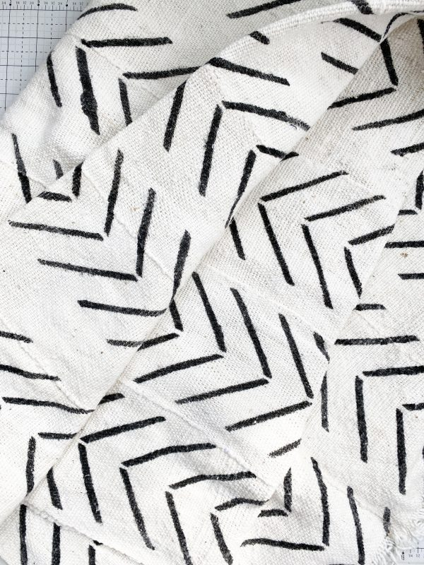 Sewing with Authentic Mud Cloth: Uncut material