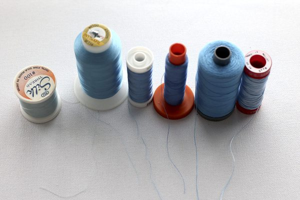 Thread Weight from Light to Heavy