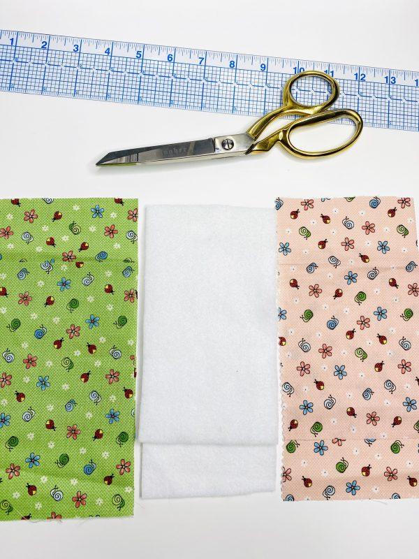 Eyeglass Case Tutorial - Cutting Fabric