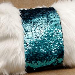 Sew a Reversible Sequin Pillow BERNINA WeAllSew Blog Feature 1100x600