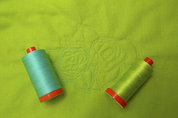 Same thread weight, different color