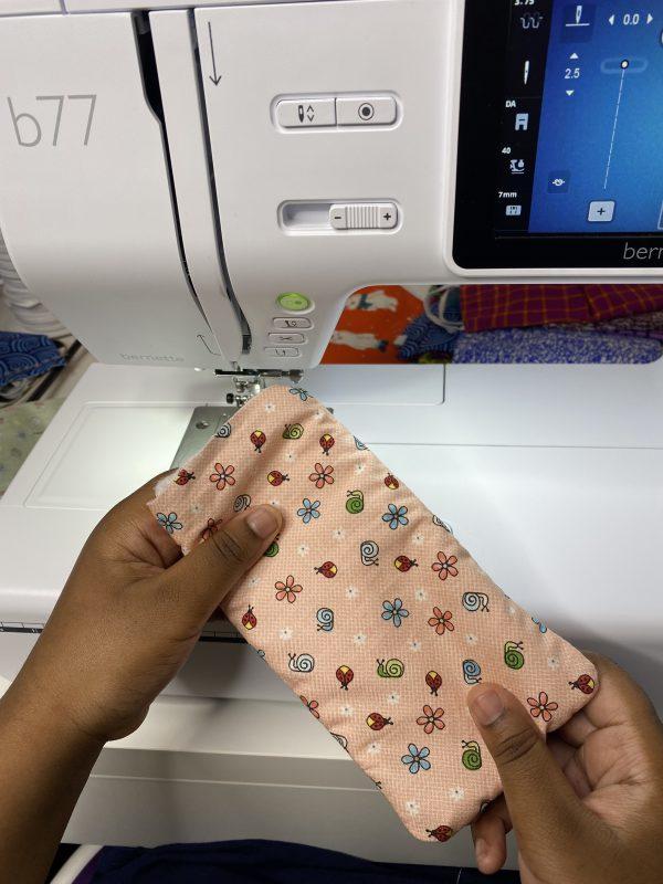 Eyeglass Case Tutorial - Assembly Fabric