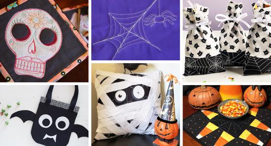 Halloween Projects BERNINA WeAllSew Blog Feature 1100x600