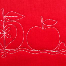 How to Free-motion Quilt an Apple Motif BERNINA WeAllSew Blog Slider 1100x600