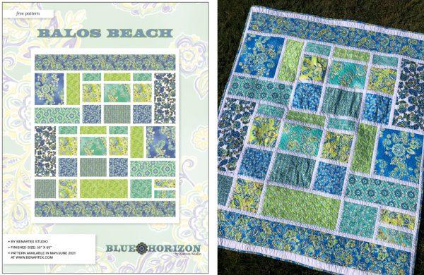 Balos Beach Pattern - Benartex