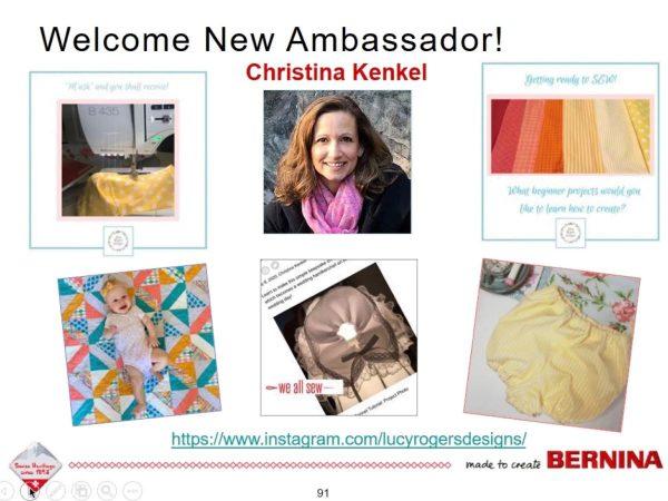 Ambassador Welcome