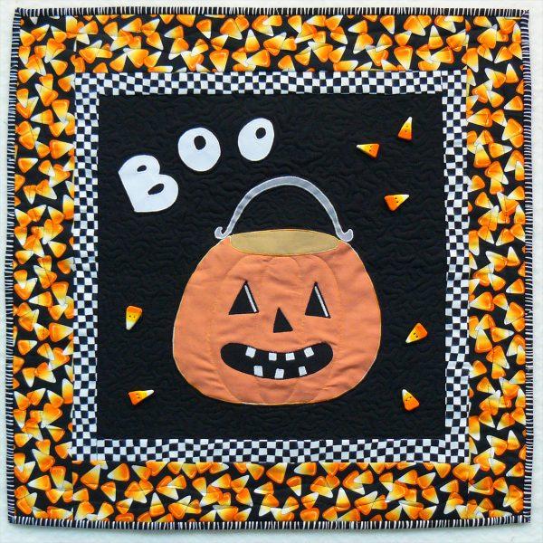 Halloween - Pumpkin Mini Quilt