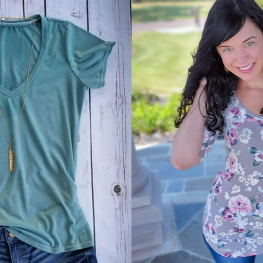 Tips for Sewing a Basic Tee - Fabric Selection BERNINA WeAllSew Blog Feature 1100x600