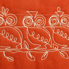 How to Quilt an Owl FMQ Tutorial BERNINA