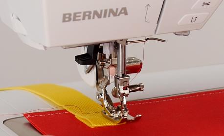 Straight Stitching with BERNINA Jeans Foot #8-8D BERNINA WeAllSew Blog Feature 1100x600