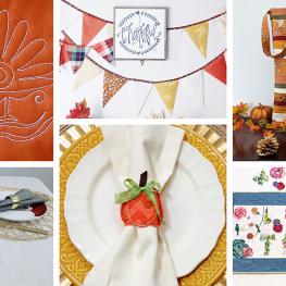 Thanksgiving Projects BERNINA WeAllSew Blog Feature 1100x600